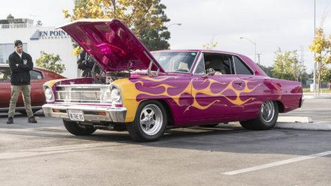 Pink Chevrolet Nova - WELD ProStar Forged Wheels