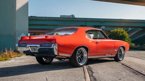 """1969 Pontiac GTO """"The Judge"""" Built by ETailored - Weld S77 Forged Wheels"""