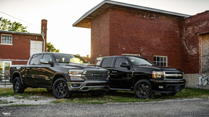Gray Dodge Ram 1500 - WELD F66 Forged Offroad Wheels