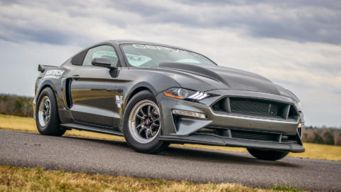 2018 Gray Ford Mustang GT - WELD S70 Three-Piece Forged Wheels